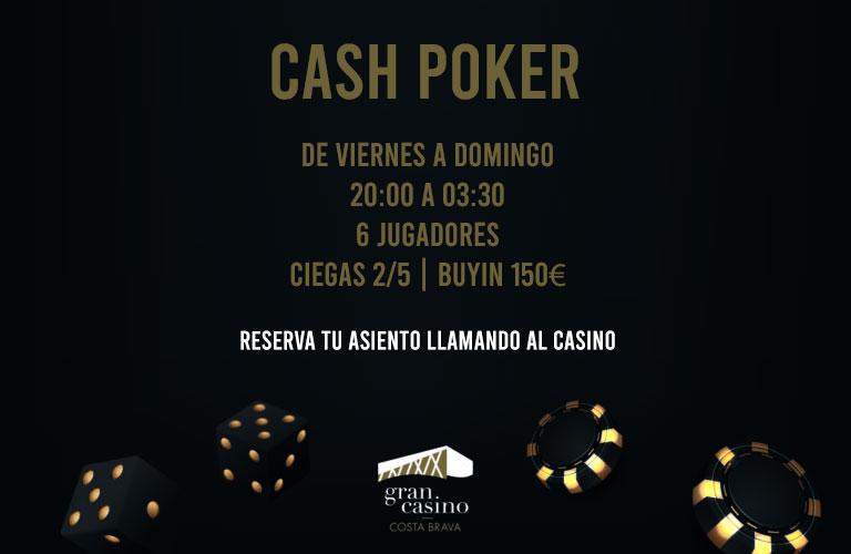 poker cash barcelona
